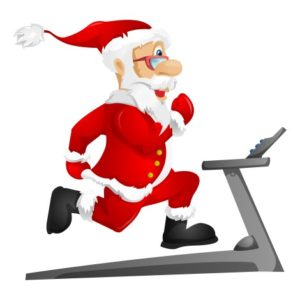 Babbo Natale corre da You Are Fitness Personal Trainer
